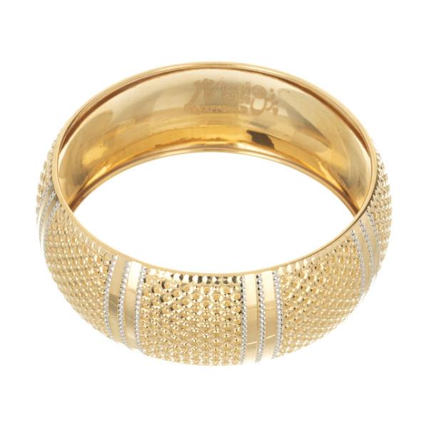 النگو طلا 18 عیار زنانه گالری یار طلا کد AL04-G-4