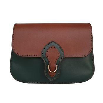 کیف دوشی زنانه چرم روژه مدل CL4