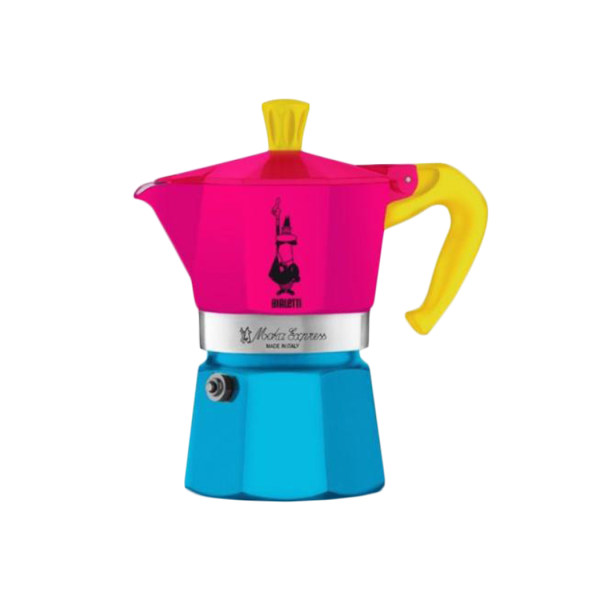 قهوه ساز بیالتی مدل موکا اکسپرس سه فنجان کد 03
