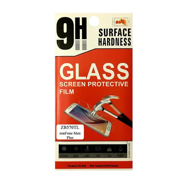 محافظ صفحه نمایش شیشه ای مدل 9H مناسب برای گوشی موبایل ایسوس ZenFone Max Plus ZB570TL