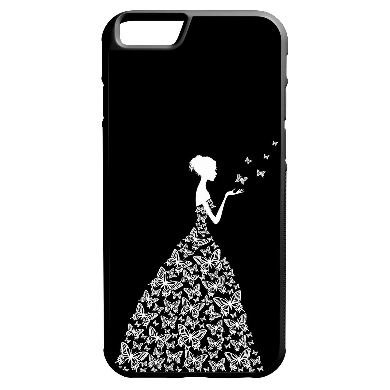 کاور طرح دخترانه مدل 0360 مناسب برای گوشی موبایل اپل iphone 6/6s