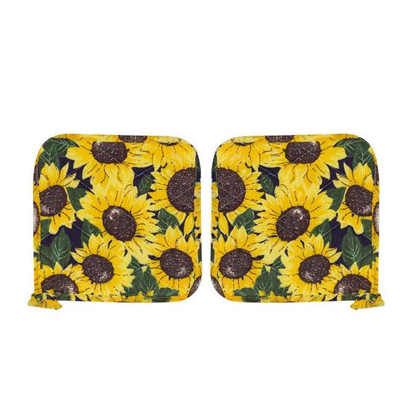 دستگیره آشپزخانه مدل D2-sunflower بسته دو عددی