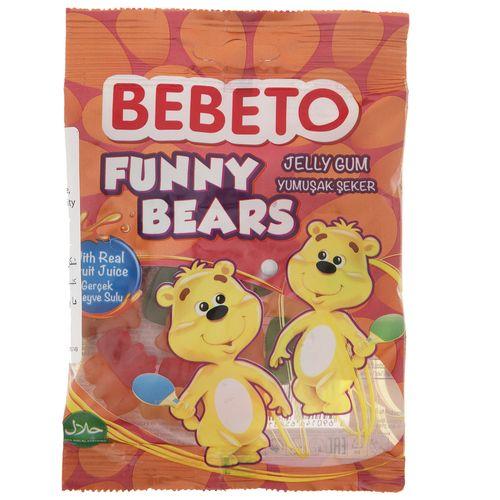پاستیل ببتو مدل Funny Bears مقدار 80 گرم