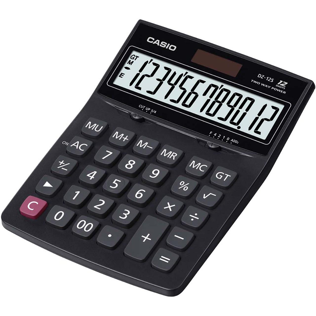 قیمت                      ماشین حساب کاسیو مدل DZ-12S