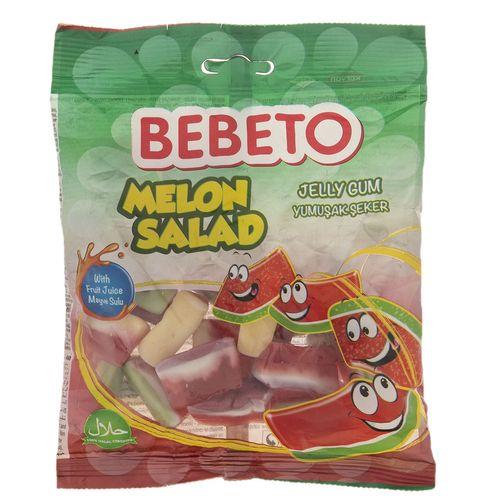 پاستیل ببتو مدل Melon Salad مقدار 165 گرم
