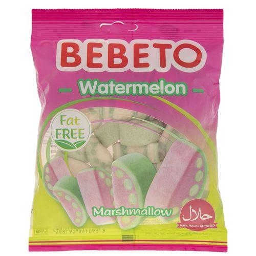 مارشمالو ببتو مدل Watermelon مقدار 60 گرم