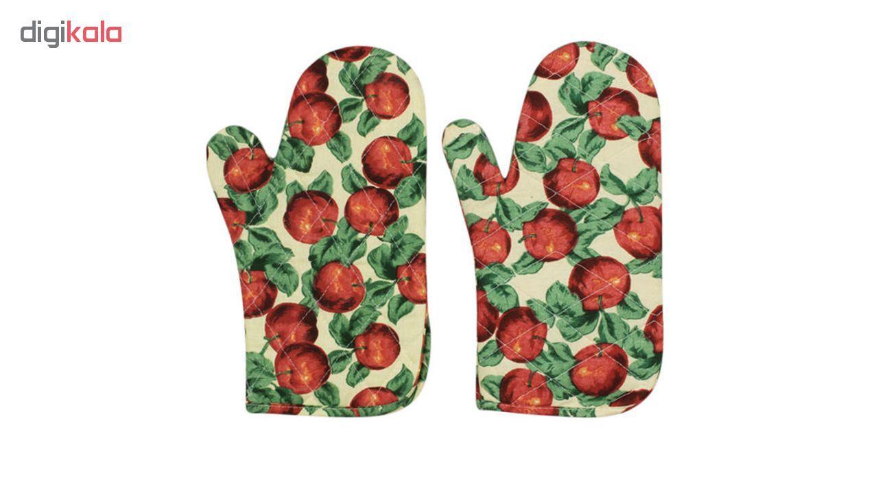 دستکش فر مدل D-apple بسته دو عددی main 1 1