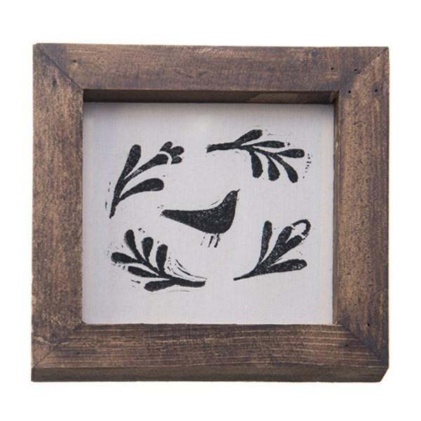 تابلو چوبی چاپ دستی روی پارچه گالری هور نقش 15