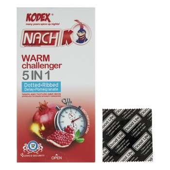 کاندوم کدکس مدل Warm Challenger بسته 12 عددی به همراه یک عدد کاندوم Good Life