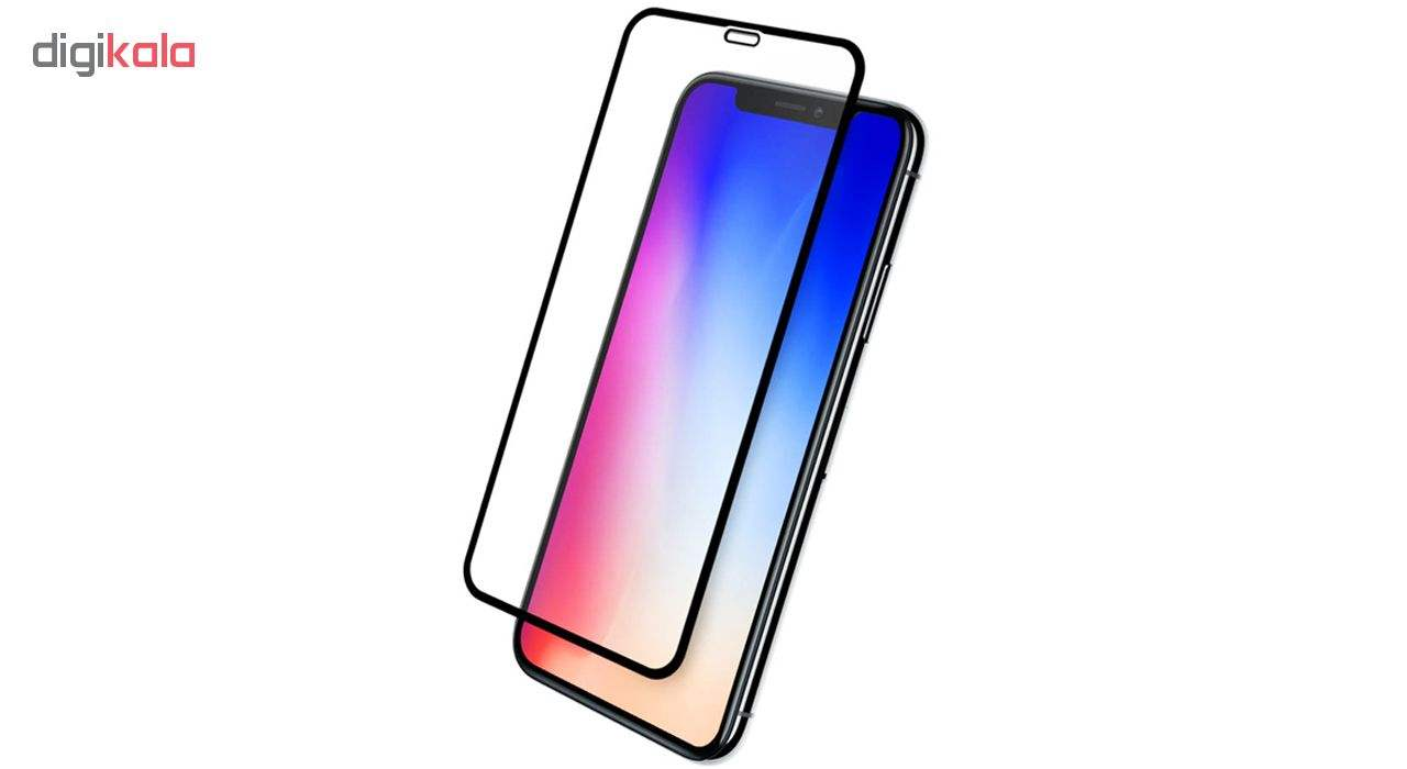 محافظ صفحه نمایش شیشه ای مدل Full Glue مناسب برای گوشی موبایل اپل iPhone Xs max main 1 1