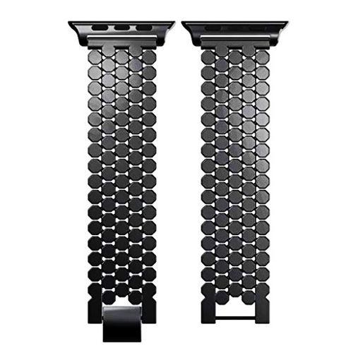 بند فلزی مدل Ajmei مناسب برای اپل واچ 38 میلیمتری