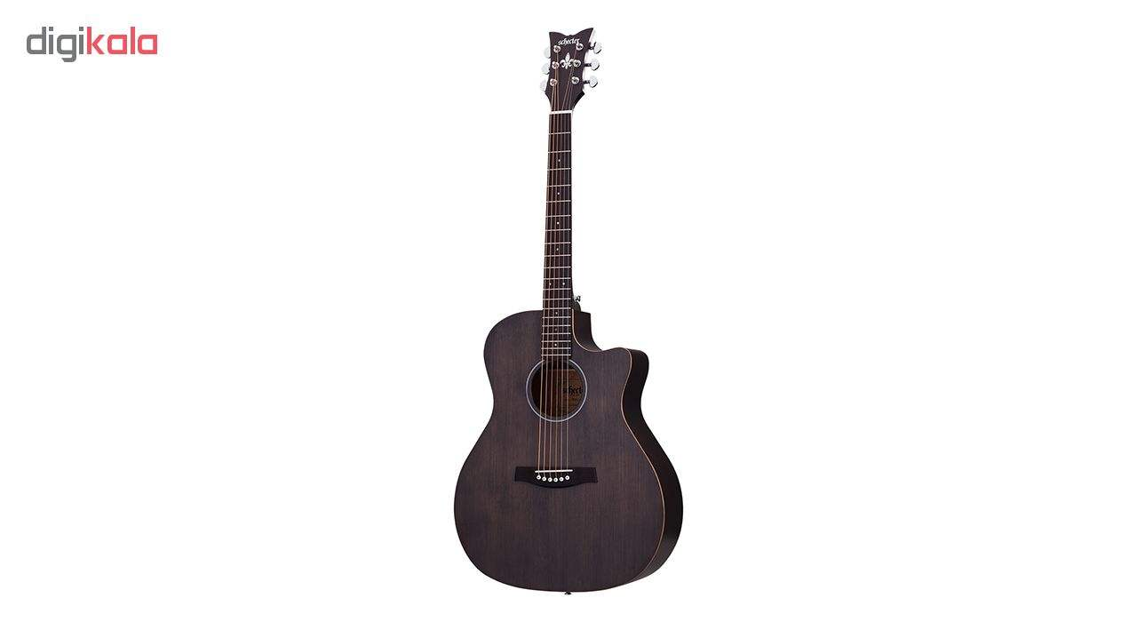 گیتار آکوستیک شکتر مدل 3716 Deluxe Acoustic  Schecter Deluxe Acoustic 3716 Guitar