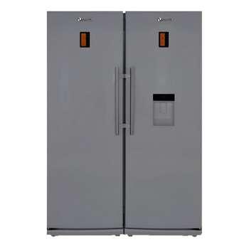 یخچال فریزر دوقلو اسنوا مدل سفید S6-0180SW   Refrigerator Freezer Twin Snova White Model S6-0180SW