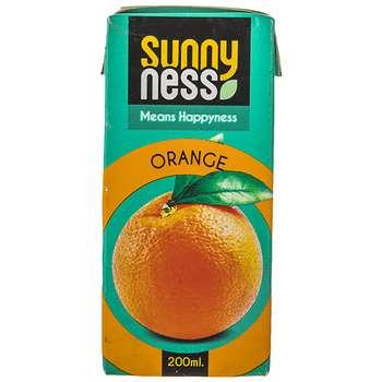 نوشیدنی بدون گاز پرتقال سانی نس حجم 200 میلی لیتر