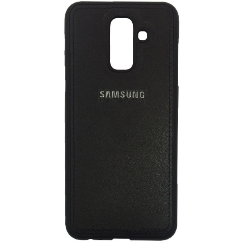 کاور طرح چرم مدل L1 مناسب برای گوشی موبایل سامسونگ گلکسی A6 Plus 2018