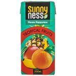 نوشیدنی بدون گاز میوه های استوایی سانی نس حجم 200 میلی لیتر thumb