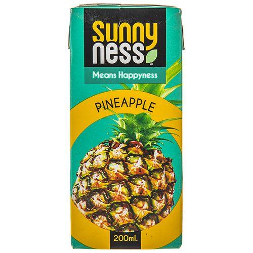 نوشیدنی بدون گاز آناناس سانی نس حجم 200 میلی لیتر