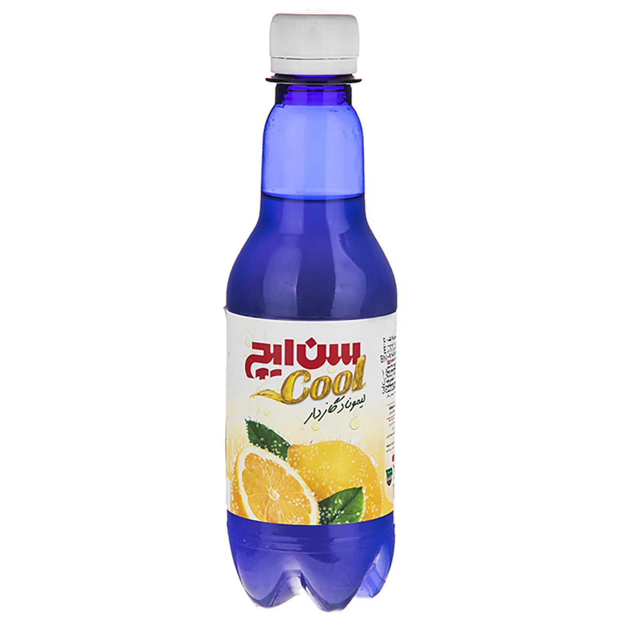 نوشیدنی گازدار لیموناد سن ایچ مقدار 330 میلی لیتر