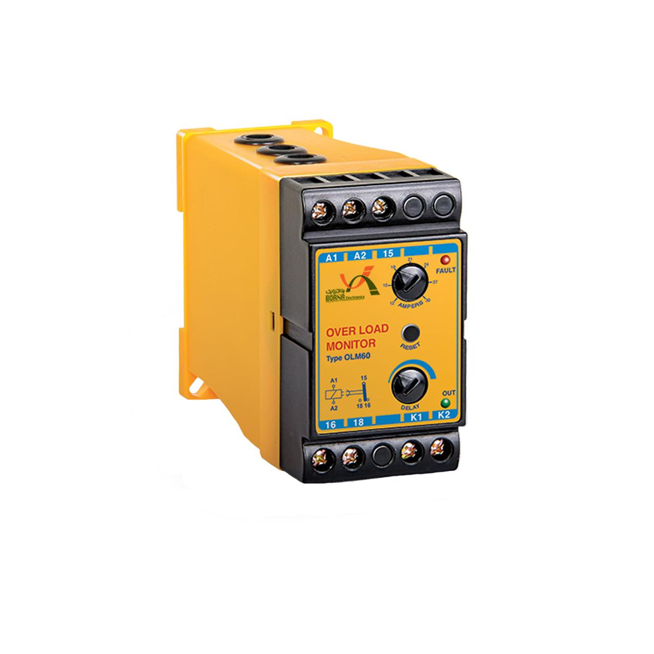 کنترل بار 30 آمپر برنا الکترونیک مدل OLM