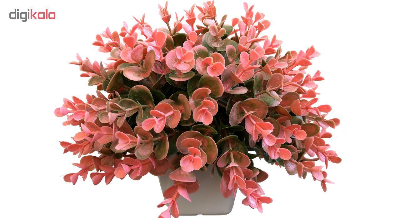 گلدان به همراه گل مصنوعی بخشی مدل SH313 main 1 3