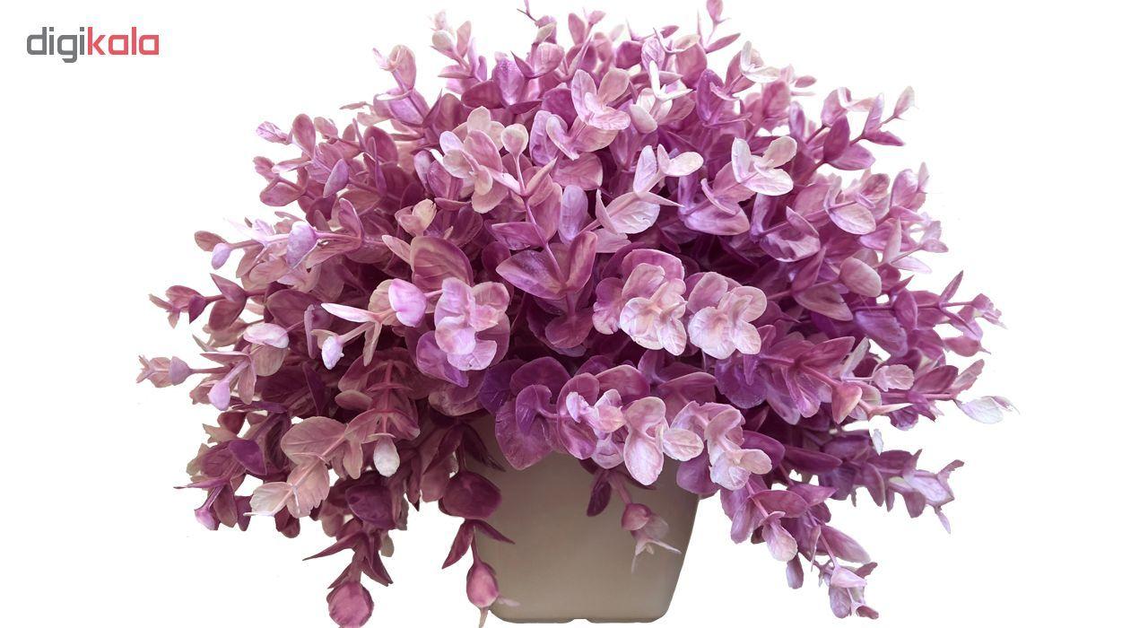 گلدان به همراه گل مصنوعی بخشی مدل SH313 main 1 11