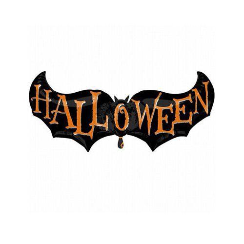 بادکنک فویلی سورتک طرح خفاش هالووین مدل STH116