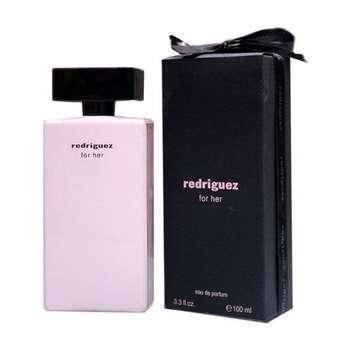 ادو پرفیوم زنانه فراگرنس ورد مدل Redriguez For Her حجم 100 میلی لیتر