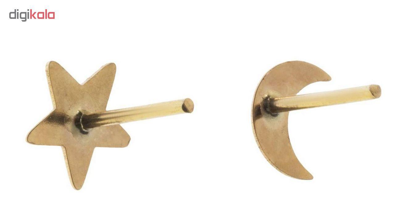گوشواره طلا 18عیار الن نار مدل EL77