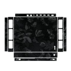برچسب ماهوت مدل Black Wild-flowers Texture مناسب کنسول بازی Xbox One X