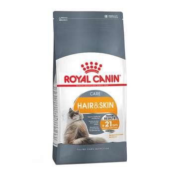 غذای خشک گربه رویال کنین مدل Hair & Skin وزن 2 کیلوگرم