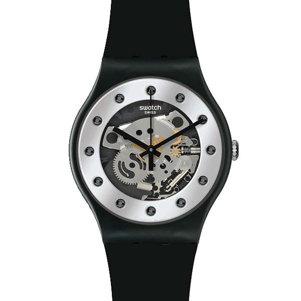 ساعت مچی عقربه ای مردانه سواچ مدل SUOZ147