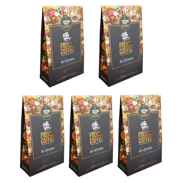 قهوه آسیاب شده شاهسوند مدل فرانسه مجموعه 5 عددی