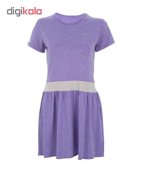 پیراهن ورزشی زنانه ساکریکس مدل LTSH570-PUR