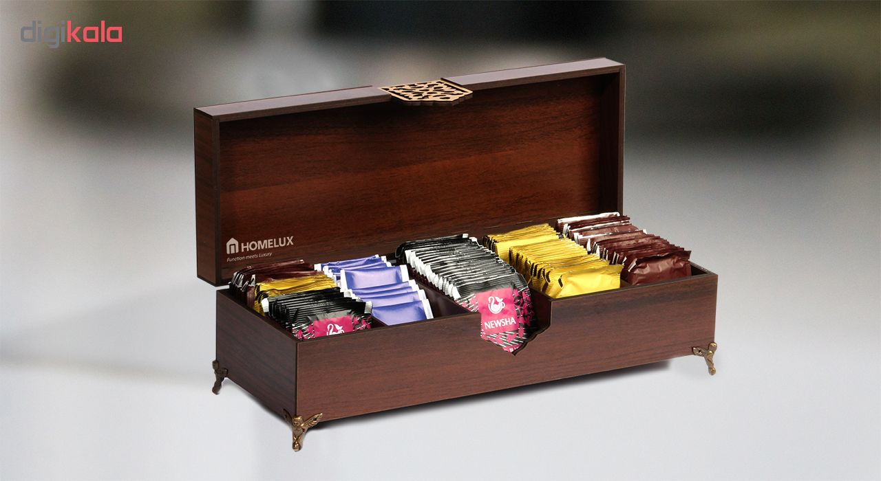 جعبه چای هوم لوکس مدل دیاموند پلاس