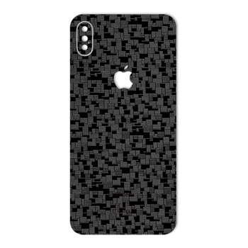 برچسب پوششی ماهوت مدل Silicon Texture مناسب برای گوشی  iPhone XS Max