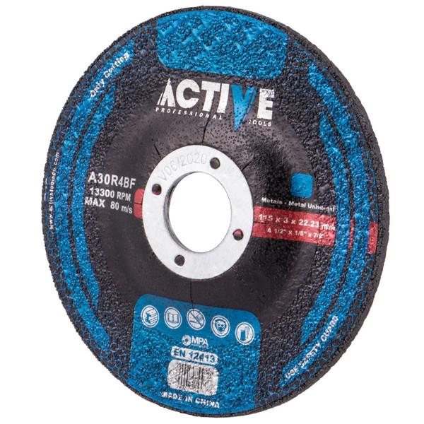 مجموعه 2 عددی صفحه  سنگ برش آهن اکتیو تولز مدل AC5053