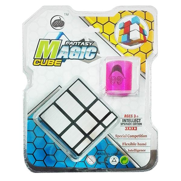 روبیک مجیک مدل fantasy cube همراه با یویو فنری
