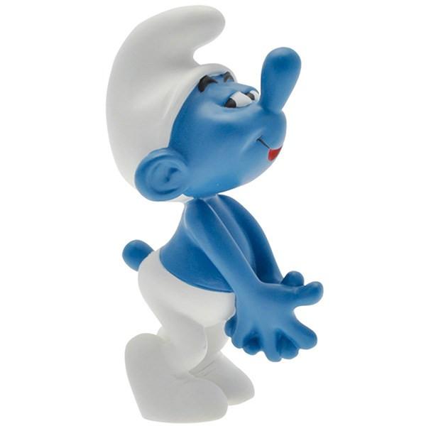 عروسک اسمورف خجالتی پلستوی کد 00163 سایز 1