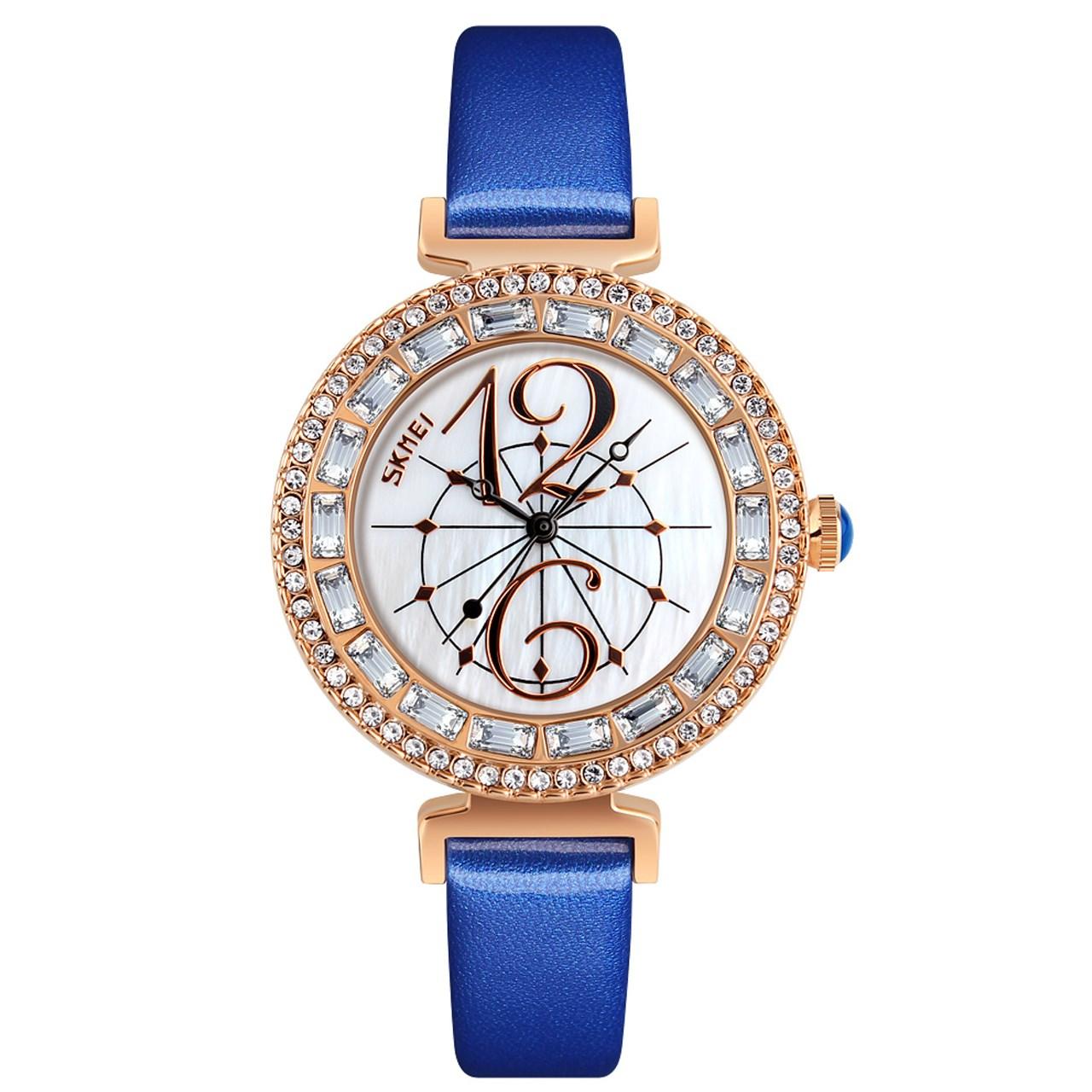 ساعت مچی عقربه ای  زنانه اسکمی مدل9158 کد 01 31