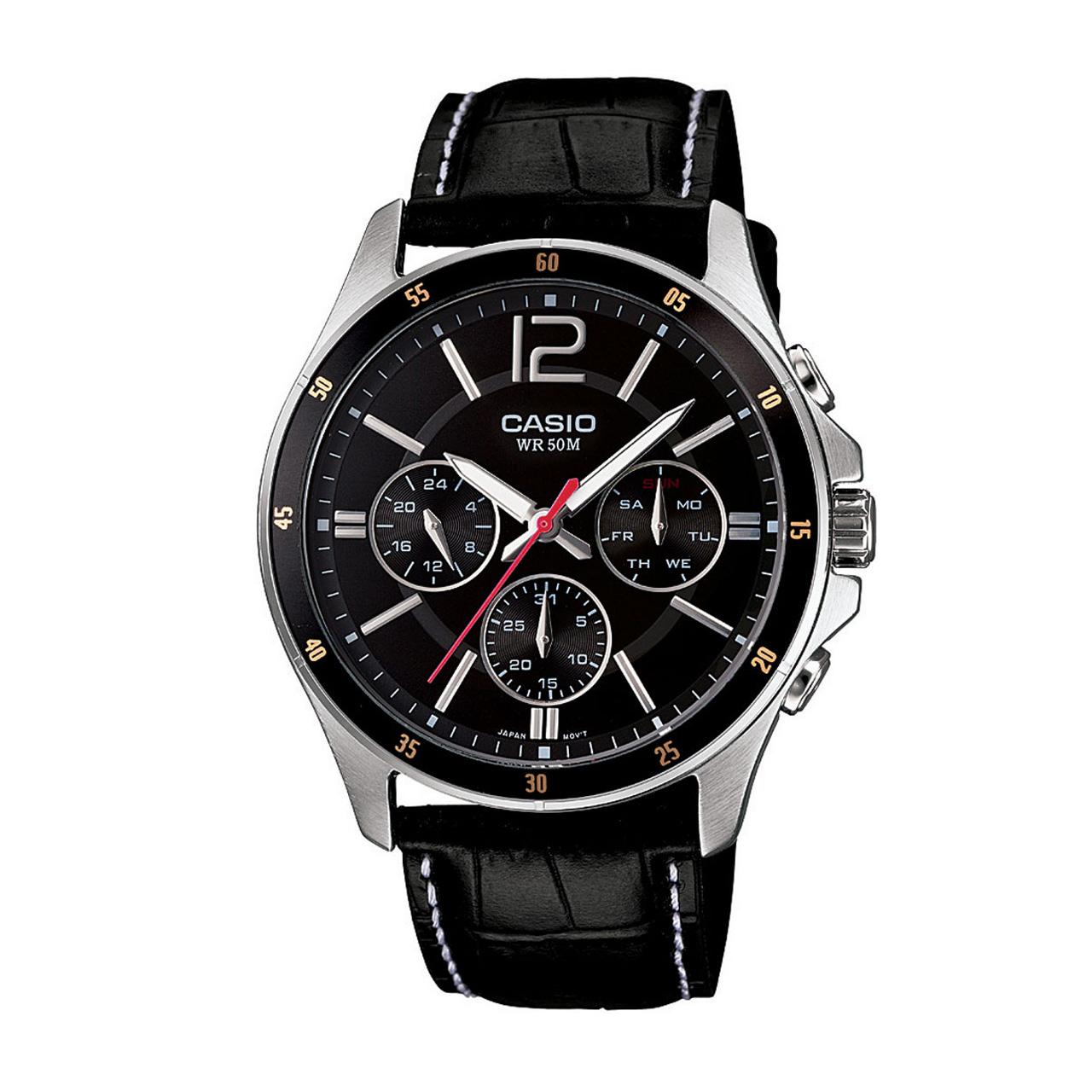 ساعت  کاسیو مدل MTP-1374L-1AVDF
