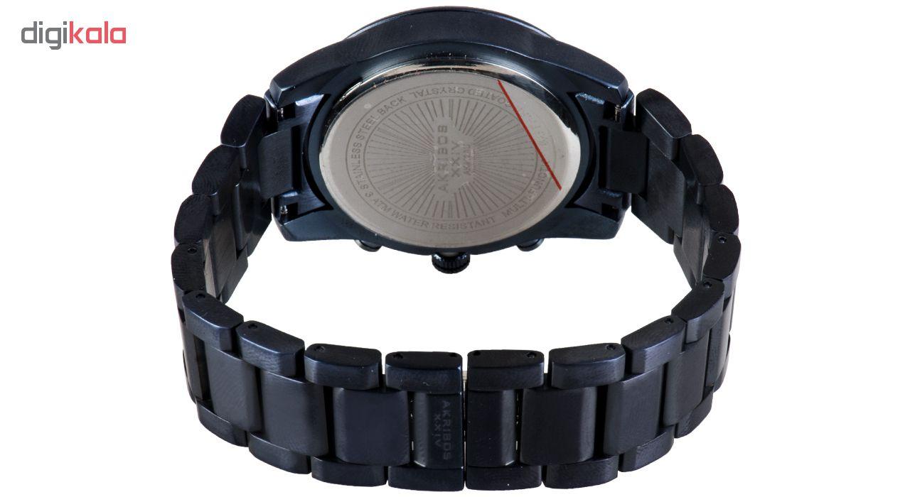 ساعت مچی عقربه ای مردانه اکریبوز24 مدل AK912BU