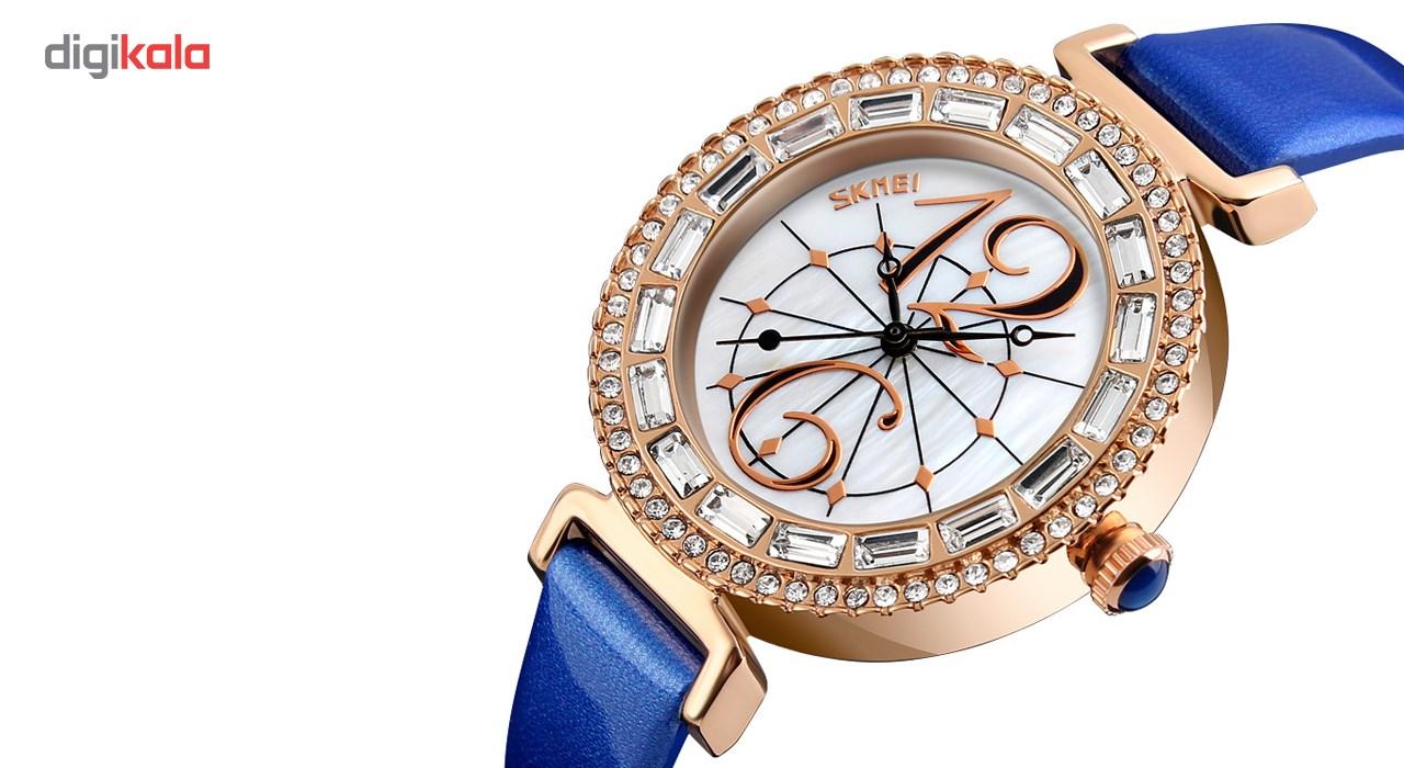 ساعت مچی عقربه ای  زنانه اسکمی مدل9158 کد 01