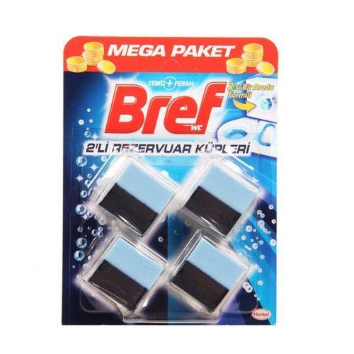 قرص خوشبو کننده توالت فرنگی برف مدل 2 در 1 بسته 4 عددی