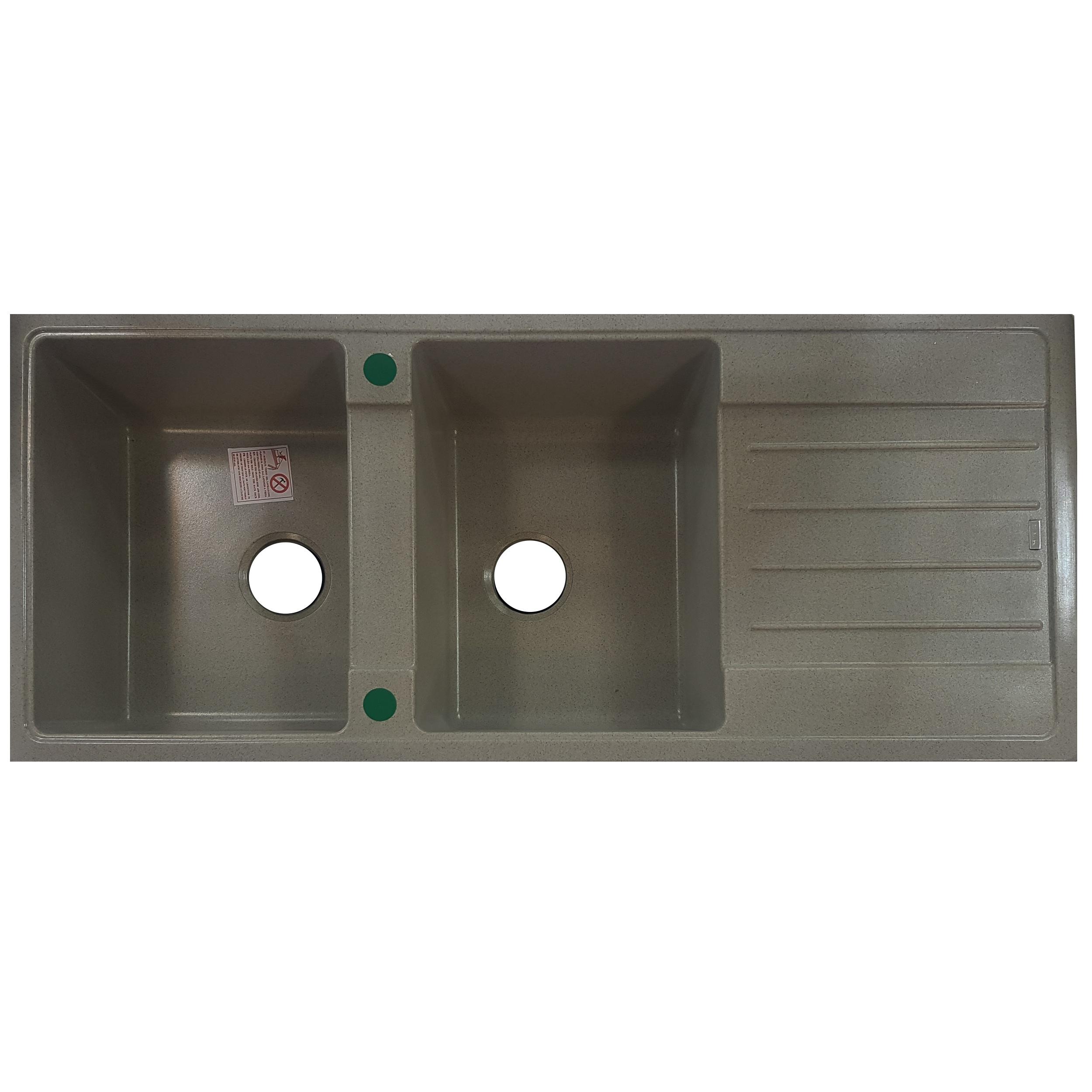 سینک ظرفشویی ای ال کی کد K102 توکار