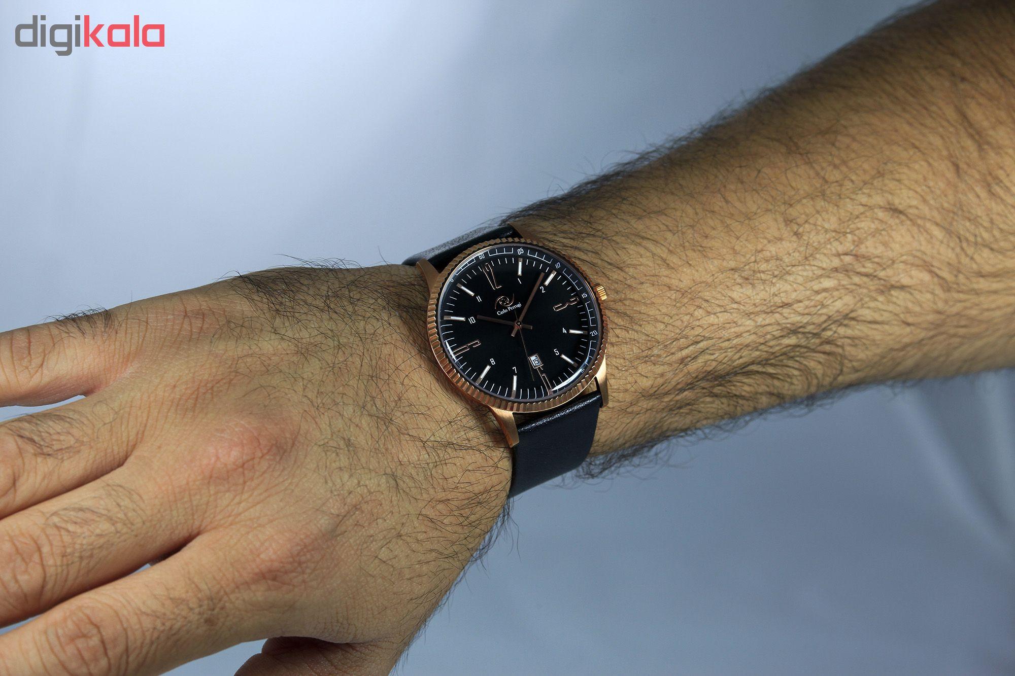 ساعت مچی عقربه ای مردانه کارلو پروجی مدل CG3114