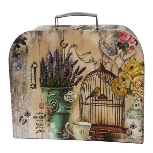 جعبه کادویی چمدانی طرح اقاقیا