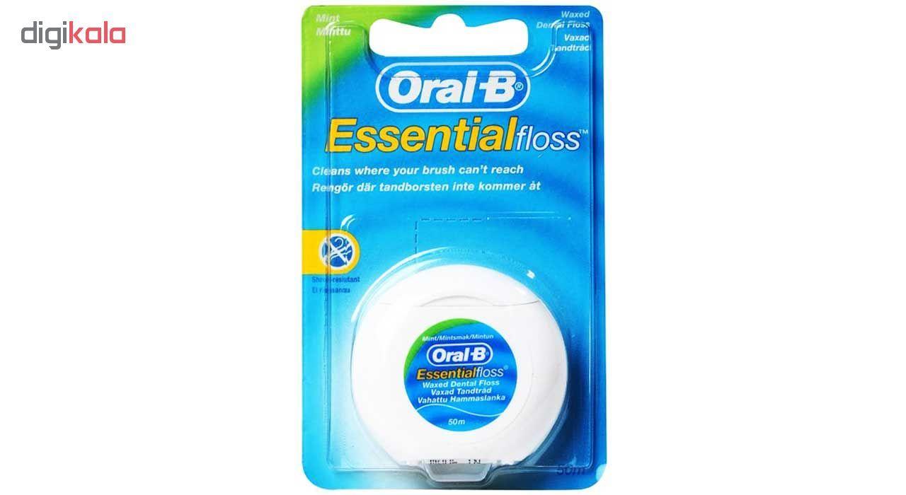نخ دندان اورال-بی مدل  ESSENTIAL FLOSS - UK main 1 1