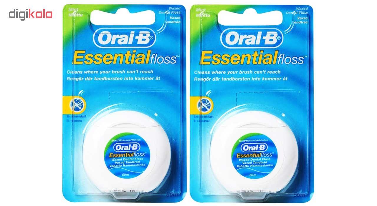 نخ دندان اورال-بی مدل ESSENTIAL FLOSS - UK بسته 2 عددی