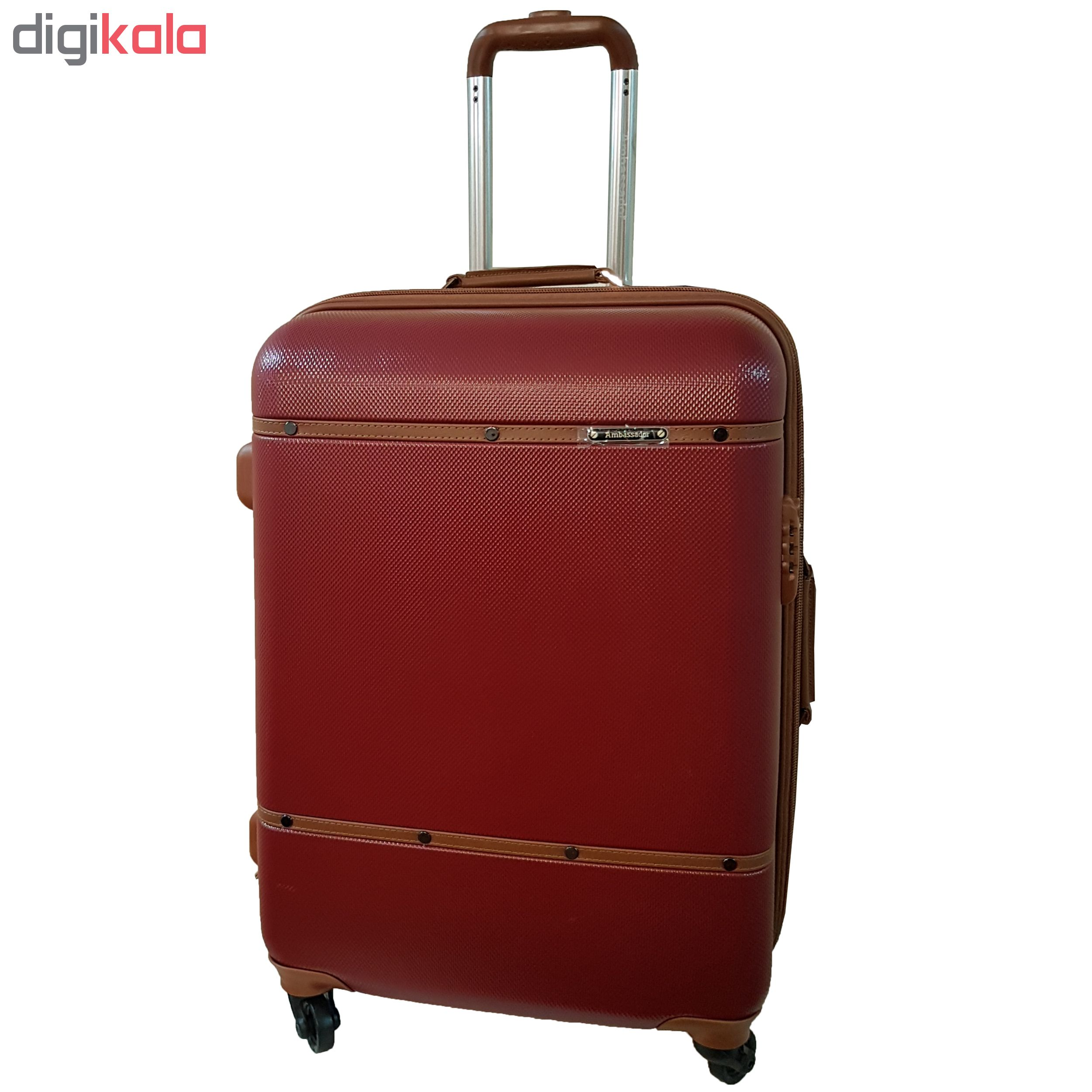 چمدان امباسادور مدل ZR24
