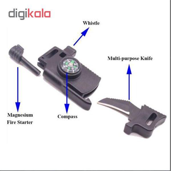 دستبند بقا چاقو دار مدل keredora